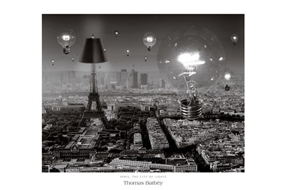 Paris, The City of Lights by Thomas Barbey art print