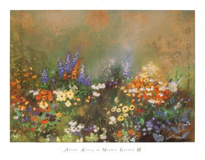 Meadow Garden III by Aleah Koury art print