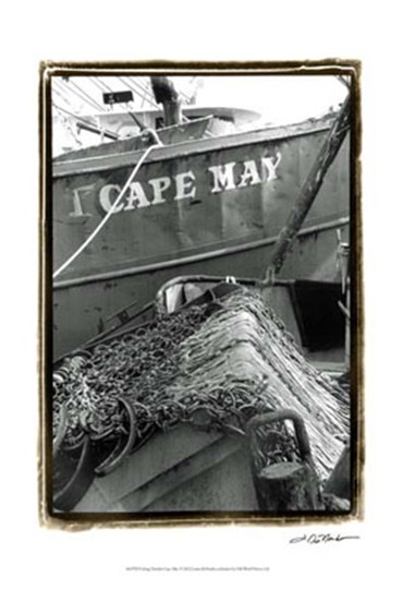 Fishing Trawler- Cape May by Laura Denardo art print