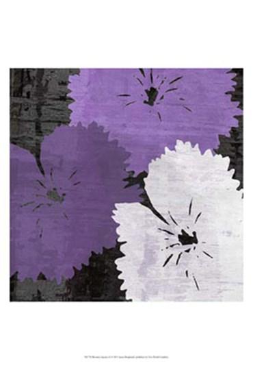 Bloomer Squares X by James Burghardt art print