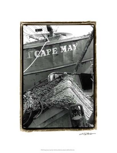 Fishing Trawler- Cape May by Laura Denardo art print
