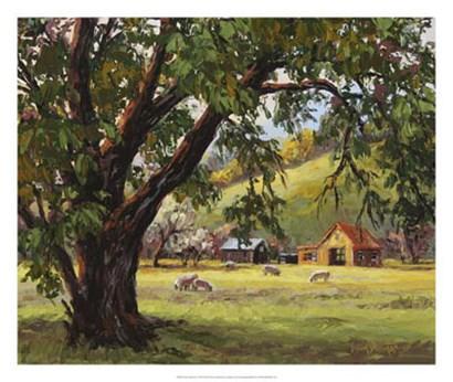 Quiet Meadow by Erin Dertner art print