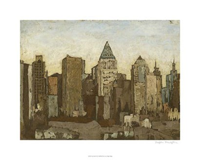 City & Sky I by Megan Meagher art print