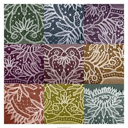 Lace Sampler by Renee Stramel art print