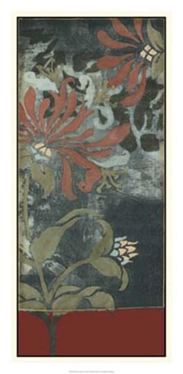 Silhouette Tapestry II by Jennifer Goldberger art print