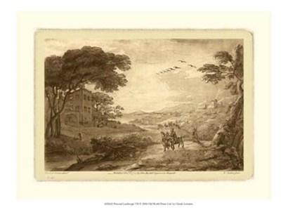 Pastoral Landscape VII by Claude Lorrain art print