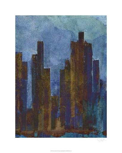 Urban Dusk II by Jarman Fagalde art print