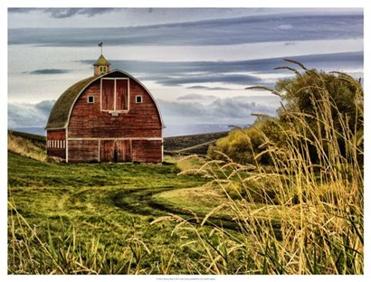 Palouse Barn by Colby Chester art print