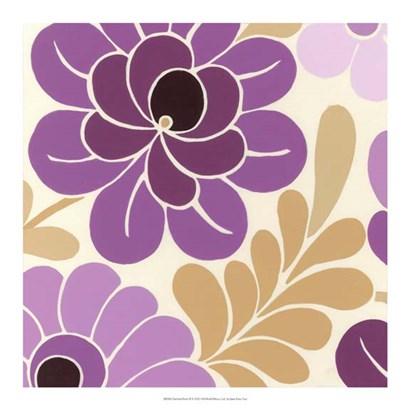Fuchsia Floral II by June Erica Vess art print