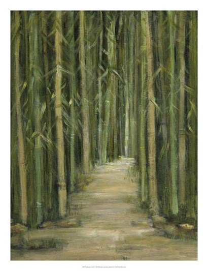 Bamboo Forest by Beverly Crawford art print