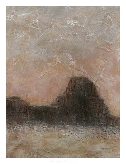 Misty Morning Mesa I by Renee Stramel art print