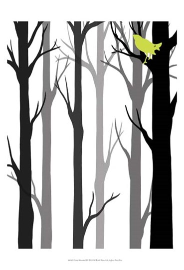 Forest Silhouette II by June Erica Vess art print