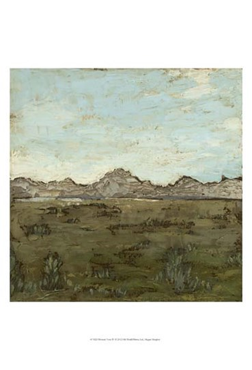 Western View IV by Megan Meagher art print