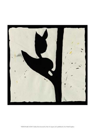 Profile X by Andrea Davis art print