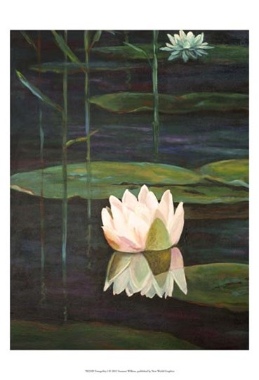 Tranquility I by Suzanne Wilkins art print
