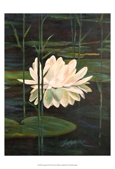 Tranquility II by Suzanne Wilkins art print