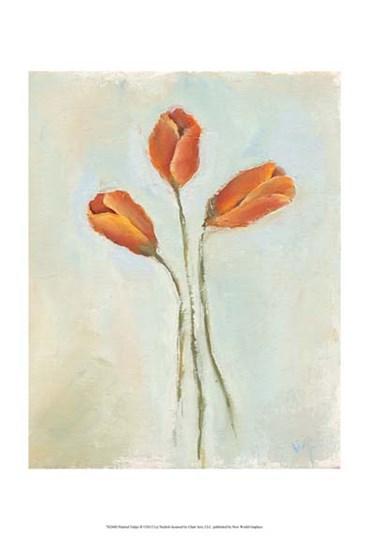 Painted Tulips II by Liz Nichols art print