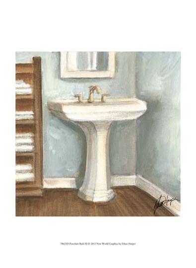 Porcelain Bath III by Ethan Harper art print