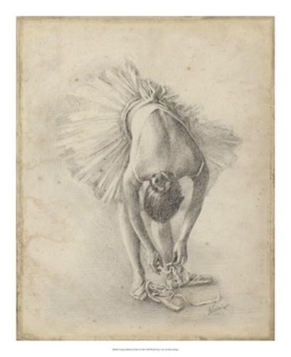 Antique Ballerina Study I by Ethan Harper art print