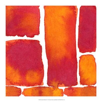Saturated Blocks II by Renee Stramel art print