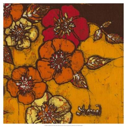 Fire Bloom III by Andrea Davis art print