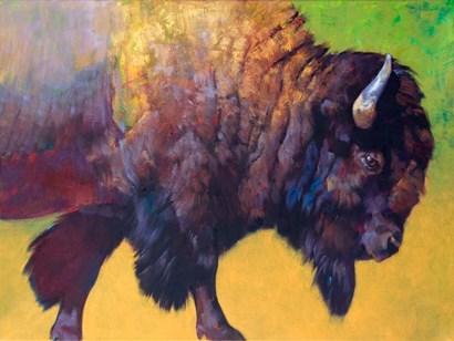 Da Bull by Julie Chapman art print