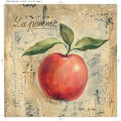 La Pomme by Silvia Vassileva art print
