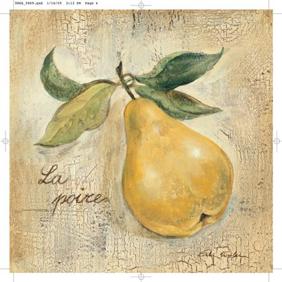 La Poire by Silvia Vassileva art print