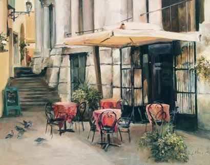 Wine Cellar in Vincenza by Marilyn Hageman art print
