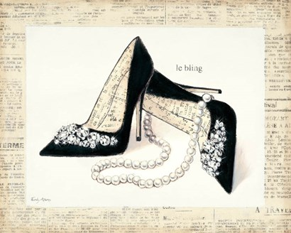 From Emily's Closet IV by Emily Adams art print