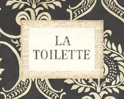 La Toilette by Emily Adams art print