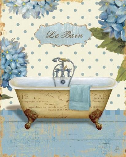 Thinking of You Bath I by Daphne Brissonnet art print