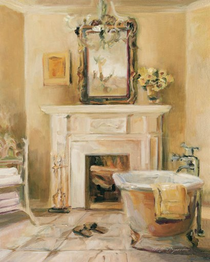 French Bath IV by Marilyn Hageman art print