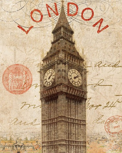 Letter from London by Wild Apple Portfolio art print