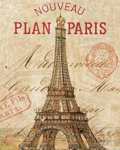 Letter from Paris by Wild Apple Portfolio art print