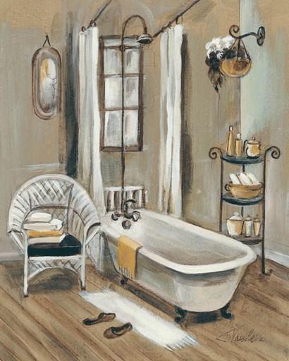 French Bath II by Silvia Vassileva art print