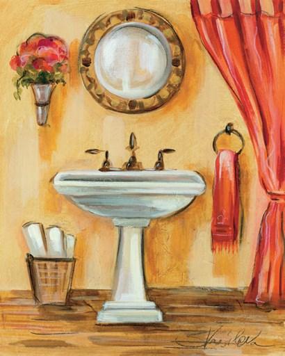 Tuscan Bath IV by Silvia Vassileva art print