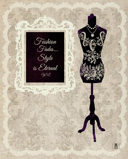 Chic Dress Form II by Studio Mousseau art print