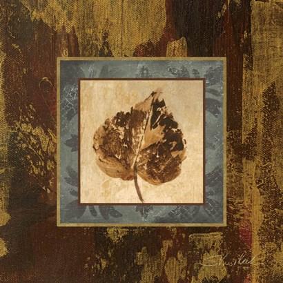 Autumn Leaf Square I by Silvia Vassileva art print