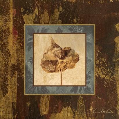 Autumn Leaf Square II by Silvia Vassileva art print