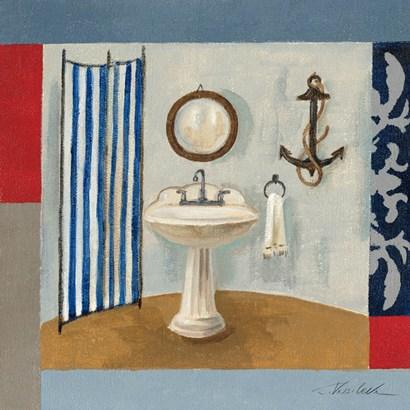 Nautical Bath I by Silvia Vassileva art print
