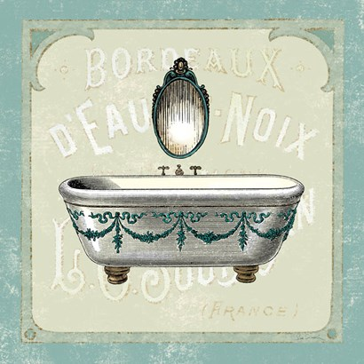 Parisian Bath I by Sue Schlabach art print