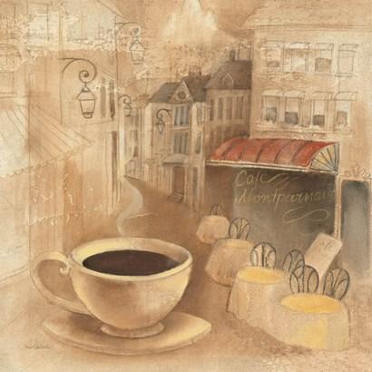 Cafe de Paris I by Albena Hristova art print
