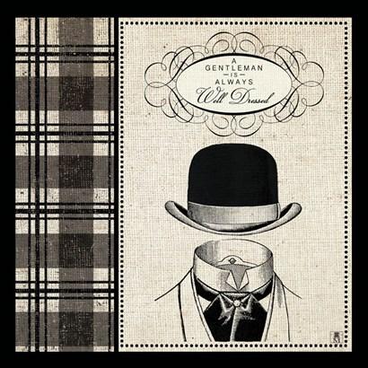 Gentleman I by Studio Mousseau art print