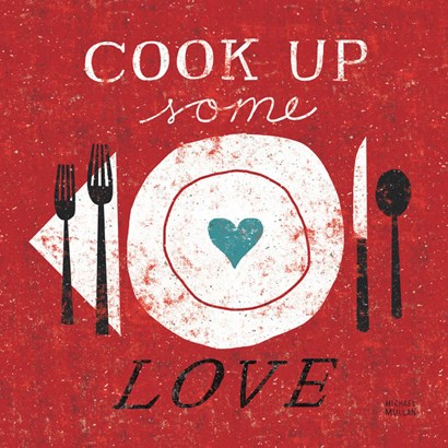 Cook Up Love by Michael Mullan art print