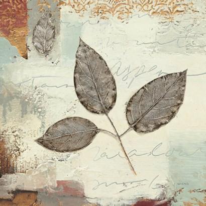 Silver Leaves II by James Wiens art print