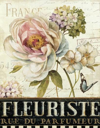 Marche de Fleurs III by Lisa Audit art print
