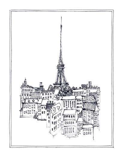 Eiffel Tower by Avery Tillmon art print