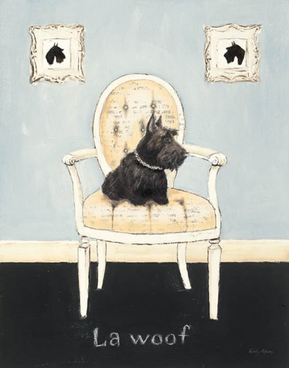 La Woof by Emily Adams art print