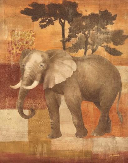 Animals on Safari IV by Albena Hristova art print